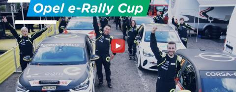 Youtube link : TotalEnergies x Opel e-Rally Cup - The first full-electric one-make rally cup!