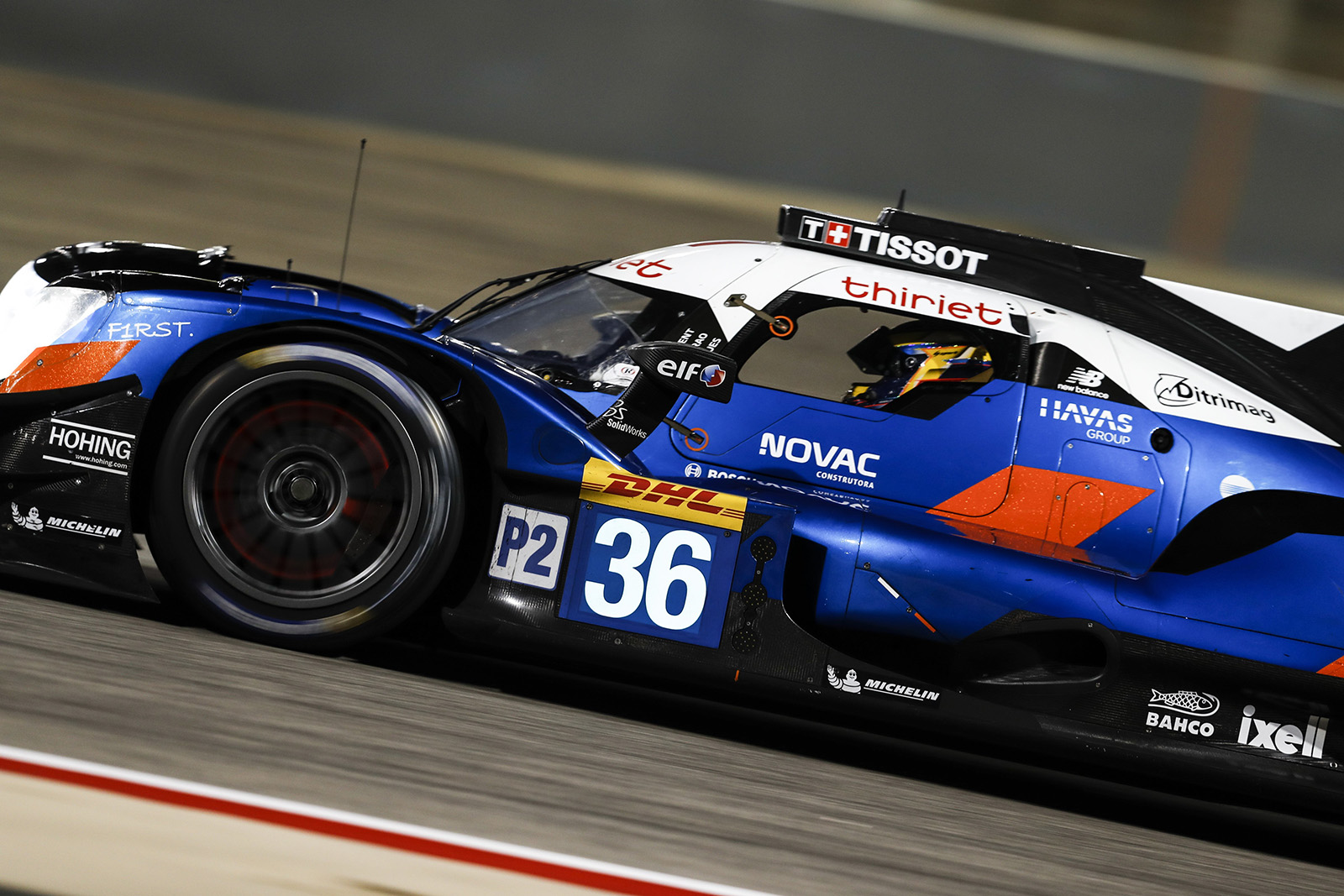 36 LAURENT Thomas (fra), NEGRAO André (bra), RAGUES Pierre (fra), Alpine A470 Gibson team Signatech Alpine Elf, action during the 2019 FIA WEC World Endurance Championship, 8 Hours of Bahrain from december 12 to 14 at International Circuit of Sakhir