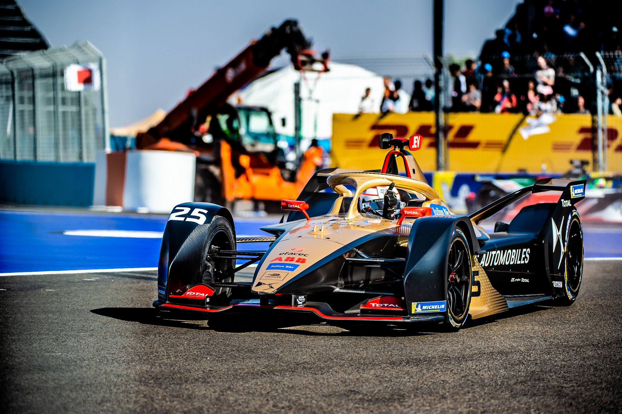 25 VERGNE Jean Eric (FRA), DS e-tense FE20 team DS TECHEETAH, action during the 2020 Formula E championship in Marrakesh, Morocco, from February 28-29 - Photo Jan Starek/MCH Photography