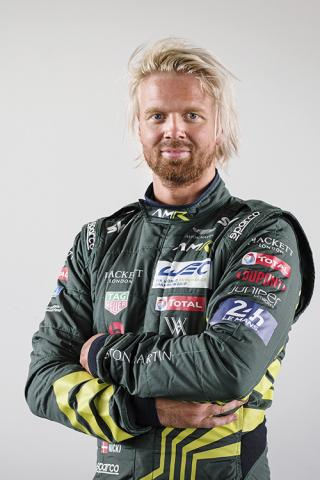 THIIM NICKI (DNK), ASTON MARTIN VANTAGE AMR ASTON MARTIN RACING PORTRAIT during the 2019 FIA WEC World Endurance Championship 4 Hours of Silverstone, England, from august 30 to september 1
