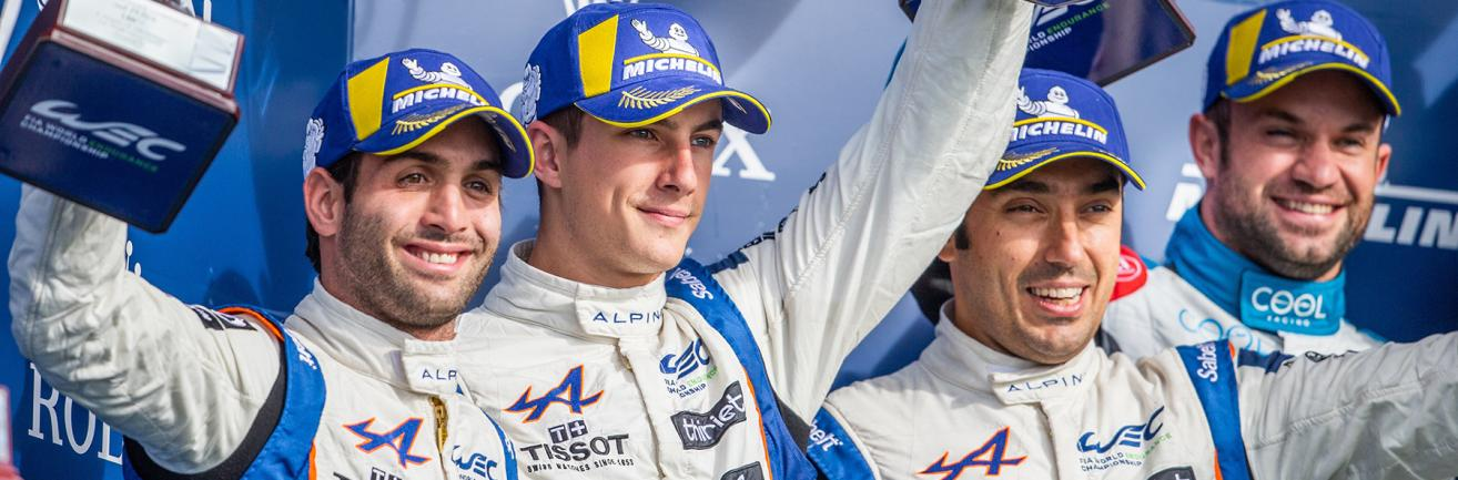Signatech Alpine Elf finished second in the LMP2 category with a last-lap pass and positions itself as a candidate to its own succession