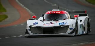 Green GT Hydrogen, action during the 2019 Le Mans 24 hours race, from June 15 to 16 at Le Mans circuit, France