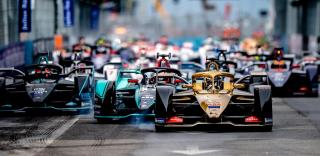 36 LOTTERER André (DEU), DS e-tense FE19 team DS TECHEETAH, action during the 2019 Formula E championship in Rome, Italy, from April 12-13