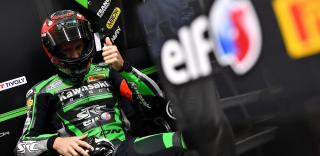 Team SRC Kawasaki Jeremy Guarnoni FRA / Erwan Nigon FRA / David Checa SPA Kawasaki ZX10R Formula EWC Bol d'Or 2019 (Circuit Paul Ricard)