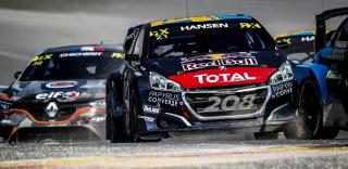 21 HANSEN Timmy (SWE), Team Hansen MJP (SWE), Peugeot 208, action during the Spa World RX of Benelux, Belgium on May 11 to 12, 2019