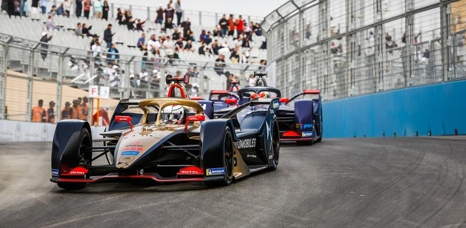 25 VERGNE Jean Eric (fra), Spark-DS Automobiles DS E-TENSE FE20, DS Techeetah, action during the 2020 Formula E championship, at Riyad, Saudi Arabia, from november 21 to 24, 2019