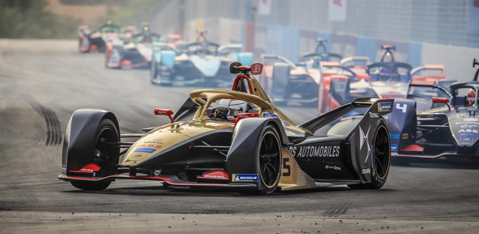 25 VERGNE Jean Eric (fra), Spark-DS Automobiles DS E-TENSE FE20, DS Techeetah, action during the 2020 Formula E championship, at Riyad, Saudi Arabia, from november 22 to 24, 2019