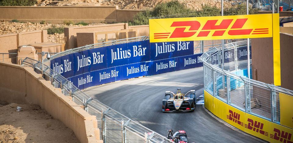 13 DA COSTA Antonio Felix (por), Spark-DS Automobiles DS E-TENSE FE20, DS Techeetah, action during the 2020 Formula E championship, at Riyad, Saudi Arabia, from november 21 to 24, 2019