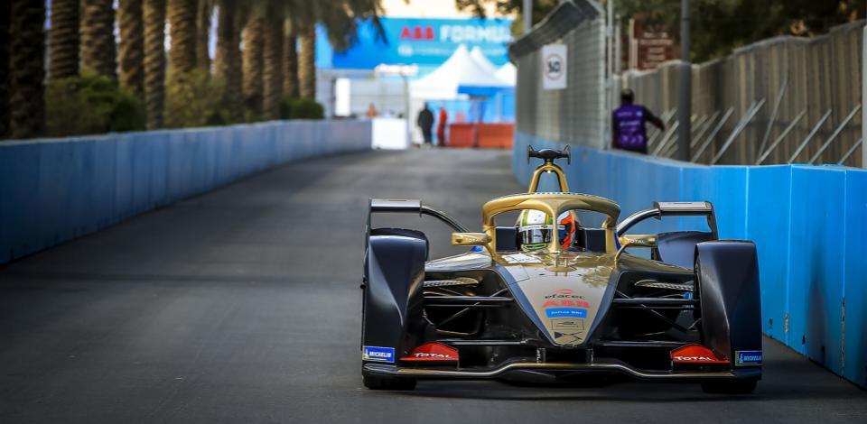 13 DA COSTA Antonio Felix (por), Spark-DS Automobiles DS E-TENSE FE20, DS Techeetah, action during the 2020 Formula E championship, at Riyad, Saudi Arabia, from november 22 to 24, 2019