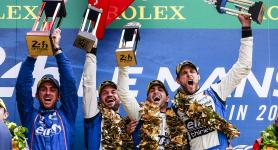 Signatech Alpine Matmut doubles up: victory in the 24 Hours of Le Mans and the LMP2 world title!